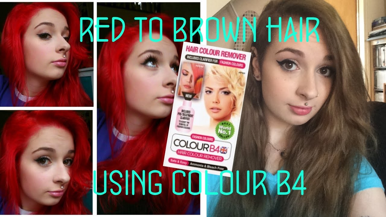 colour b4 extra strength instructions