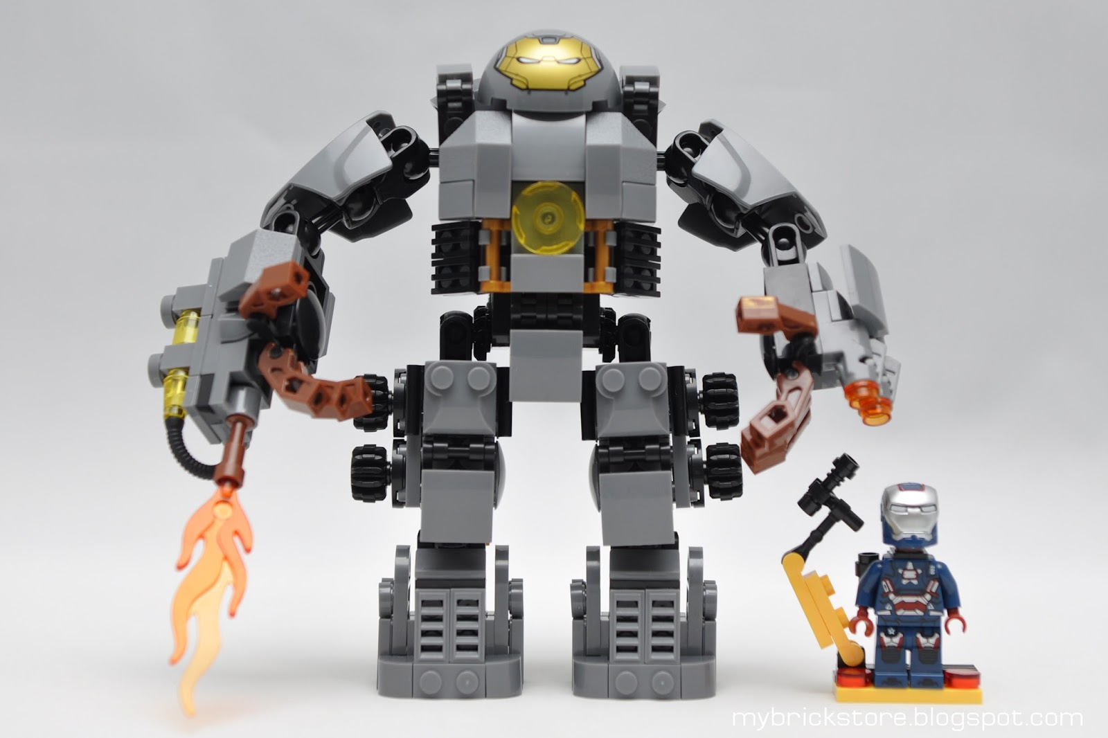 lego iron man hulkbuster instructions