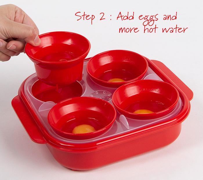 decor egg poacher instructions