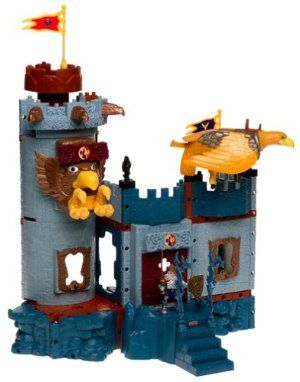 imaginext bravemore castle instructions