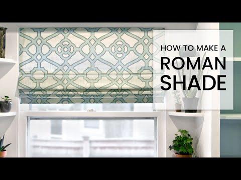 roman blind kit instructions