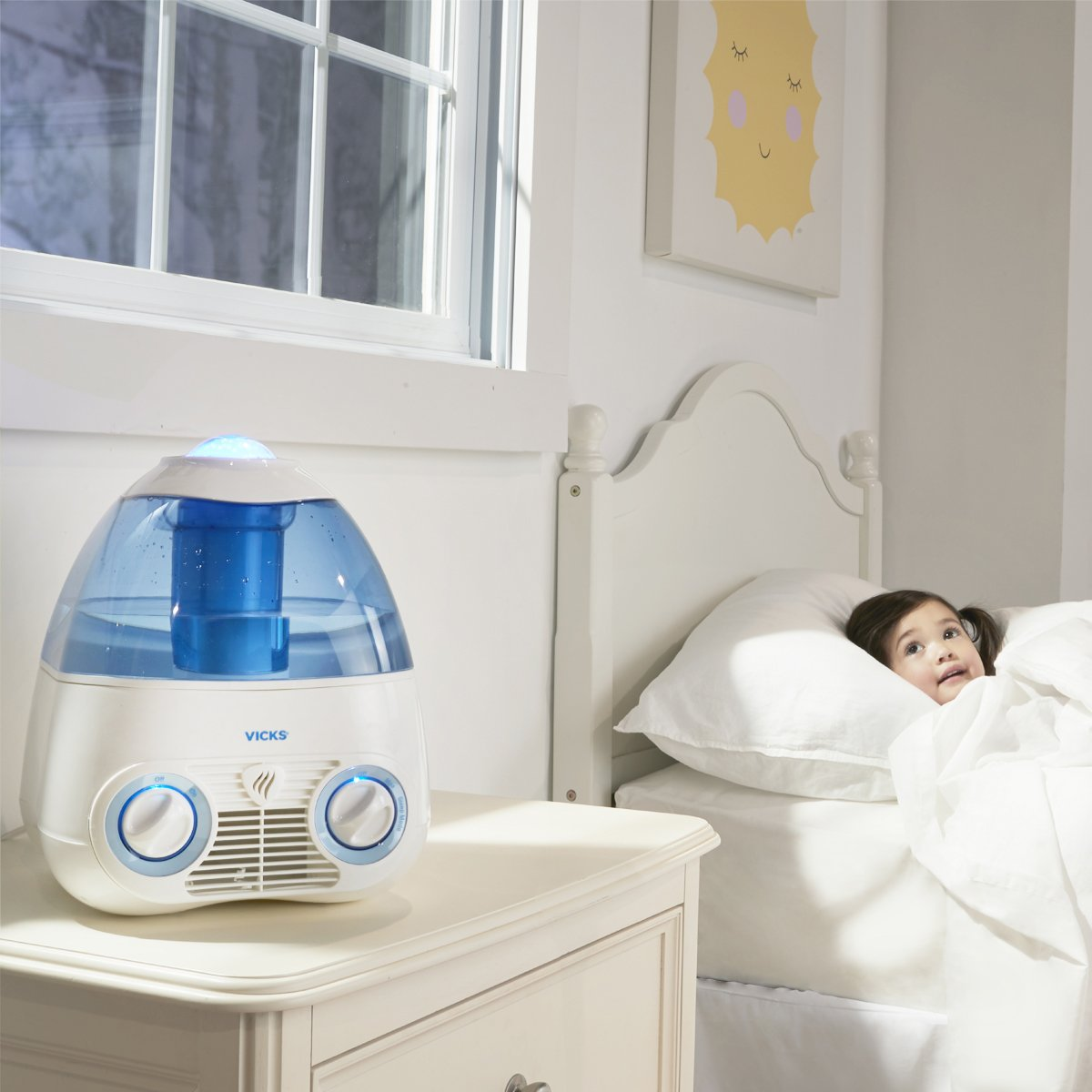 vicks humidifier instructions starry night