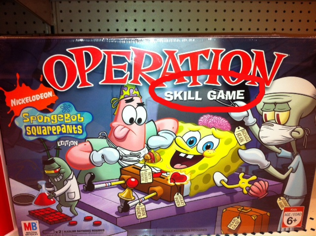 operation silly skill game instructions