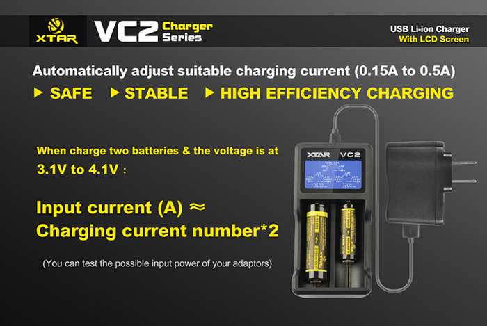 ultrafire battery charger instructions