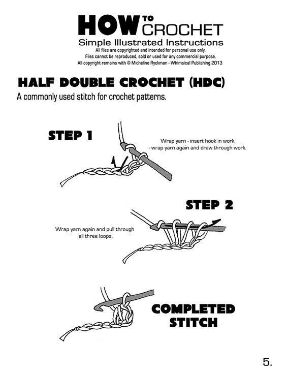 slip knot crochet instructions