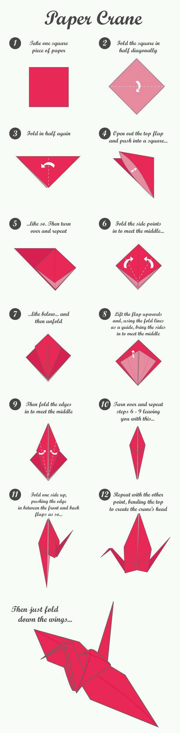 origami crane instructions for kids
