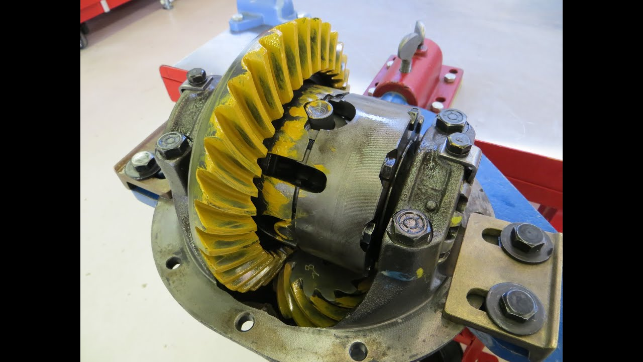toyota ring and pinion install instructions