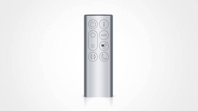 dyson fan remote instructions