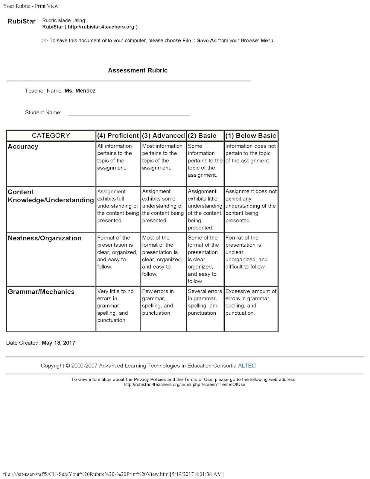 differentiated instruction and assessment