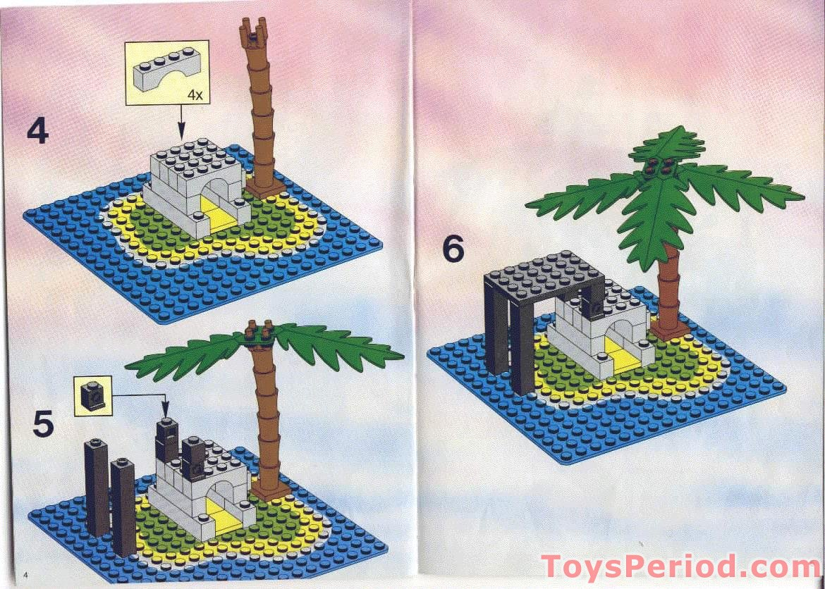 lego pirates chess set instructions