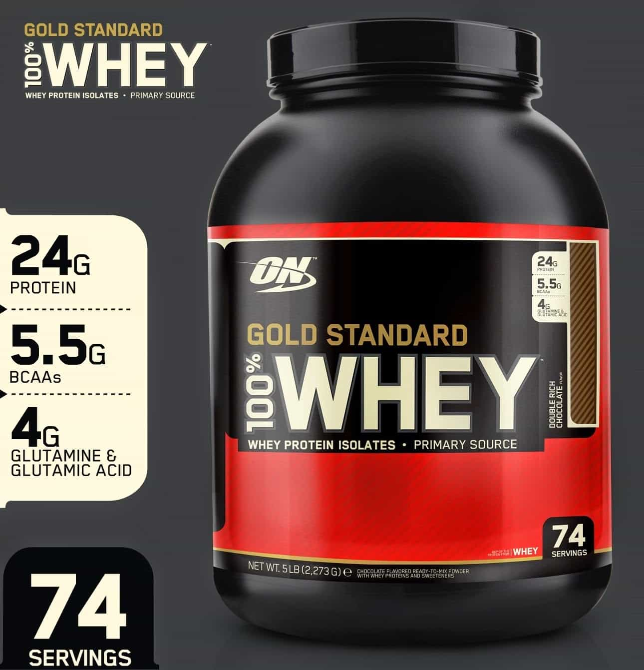 gold standard whey instructions