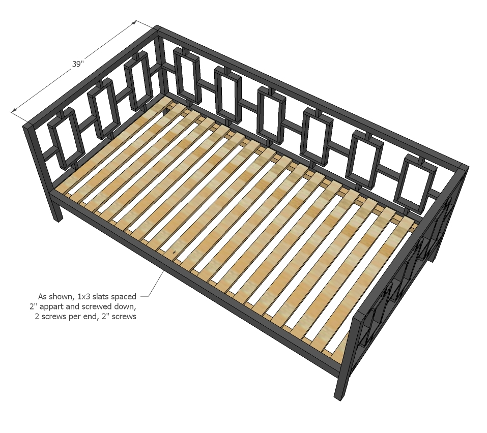 ikea metal daybed assembly instructions