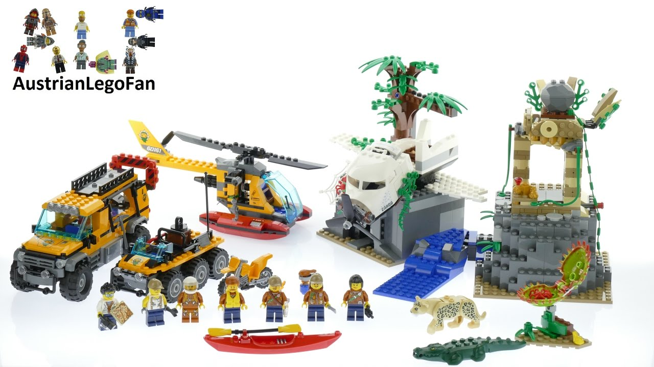 lego jungle exploration site instructions