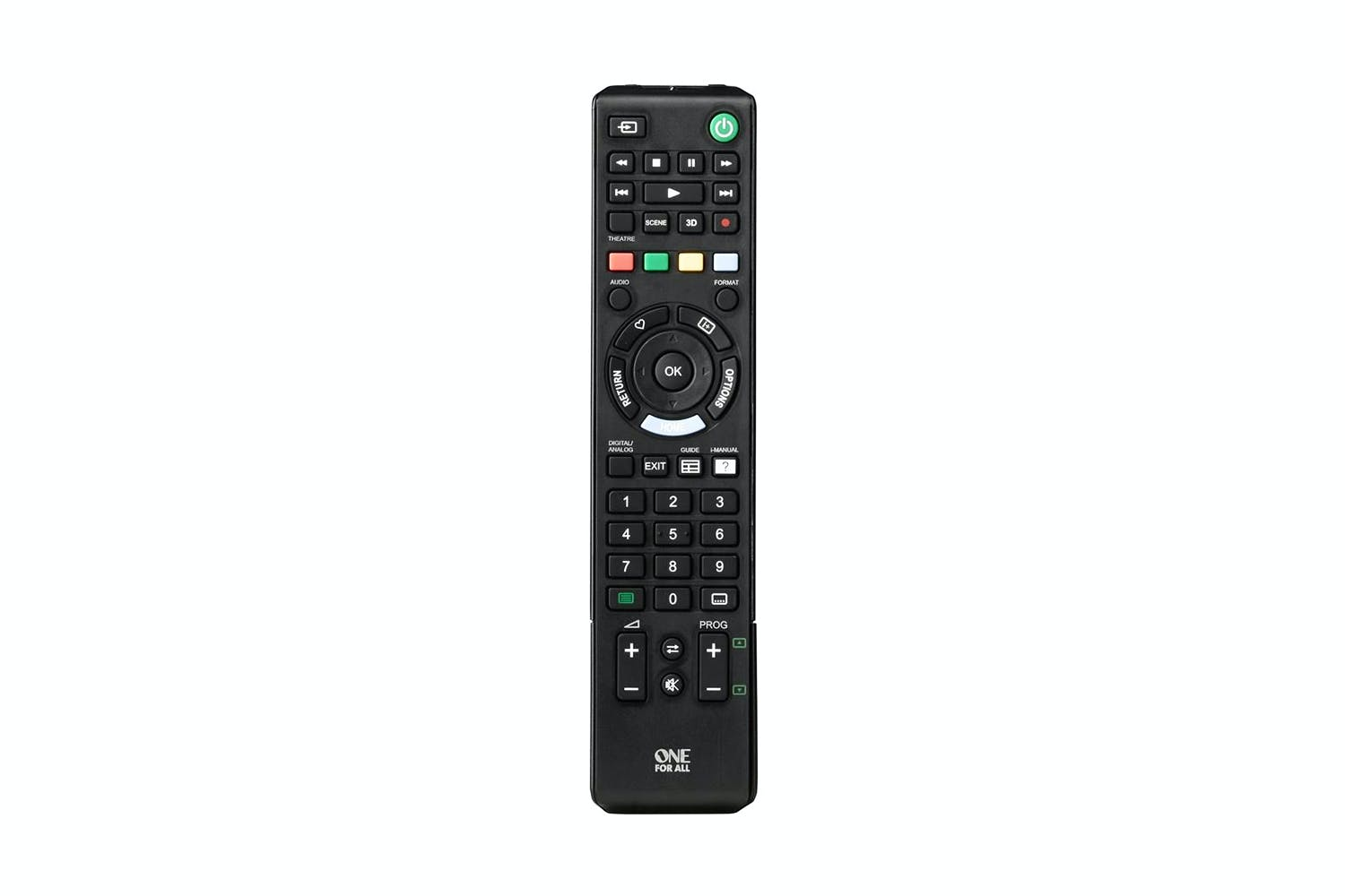 sony tv remote instructions