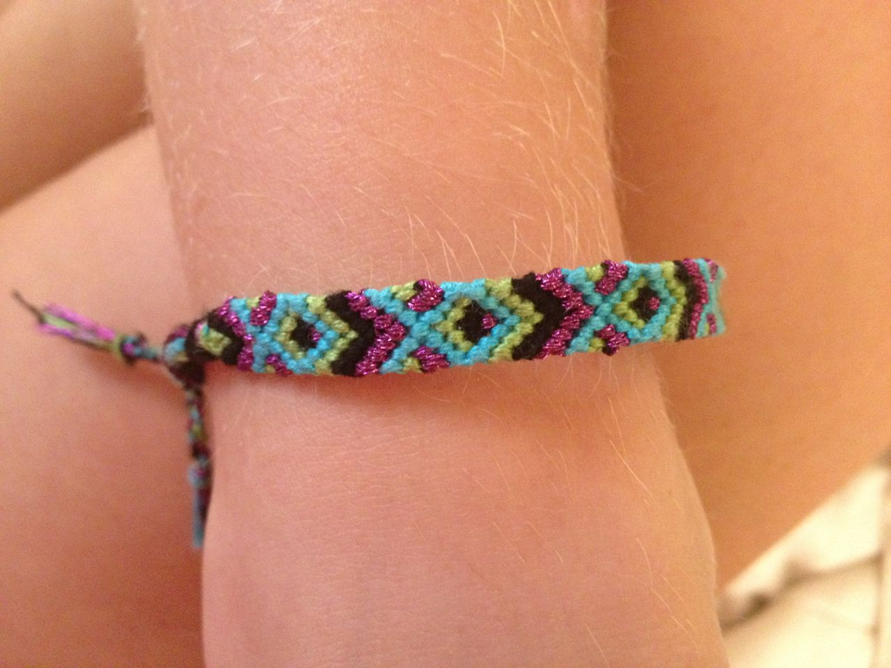 fish friendship bracelet pattern instructions