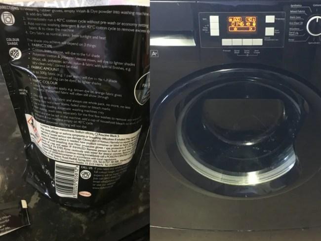 dylon permanent fabric dye instructions