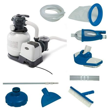 intex pool sand filter pump instructions