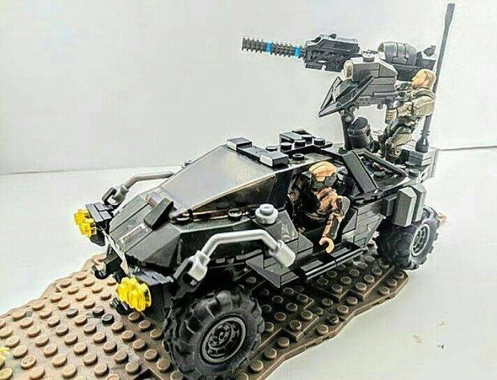 halo mega bloks warthog resistance instructions