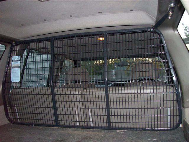 cargo barrier installation instructions hiace