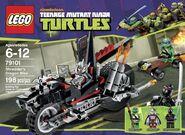 ninja turtle city sewer lair instructions