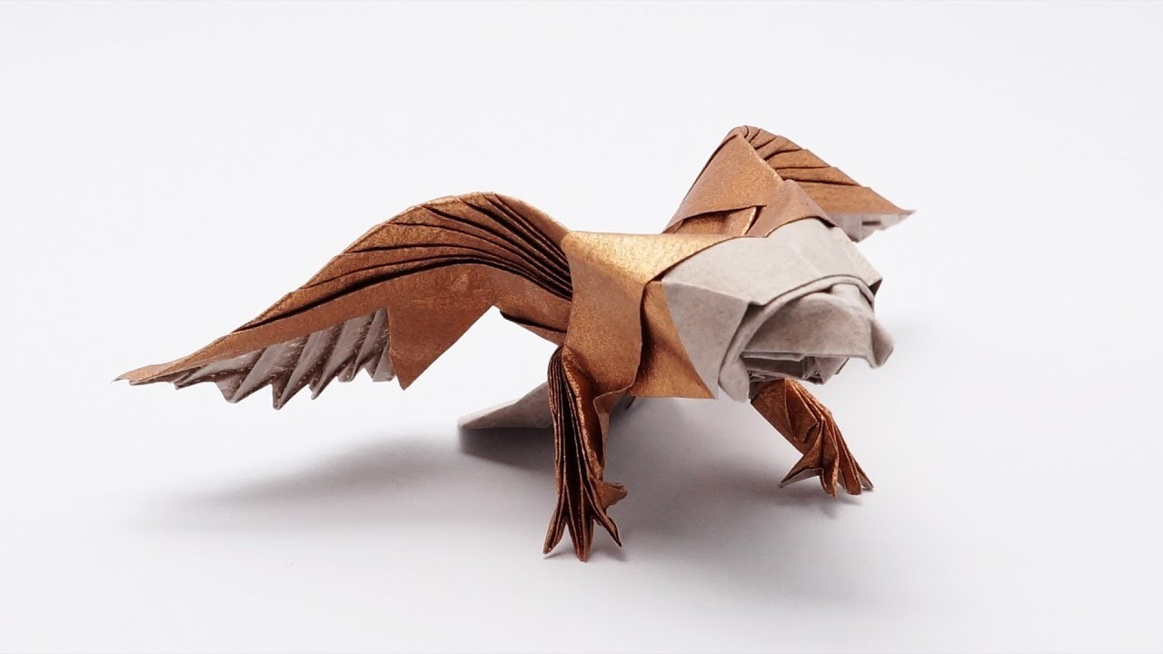 origami bald eagle instructions