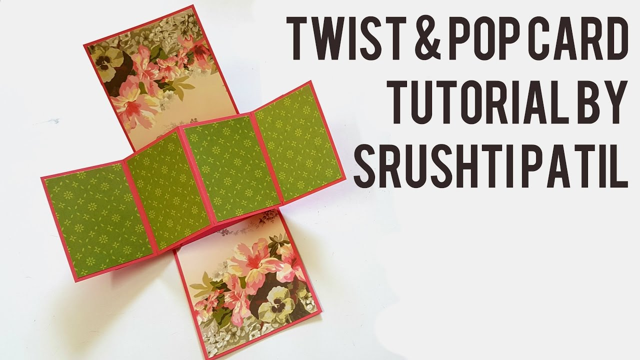 twist and pop card instructions