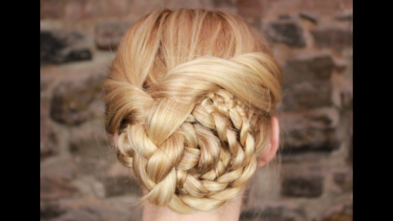 hair braiding with thread instructions