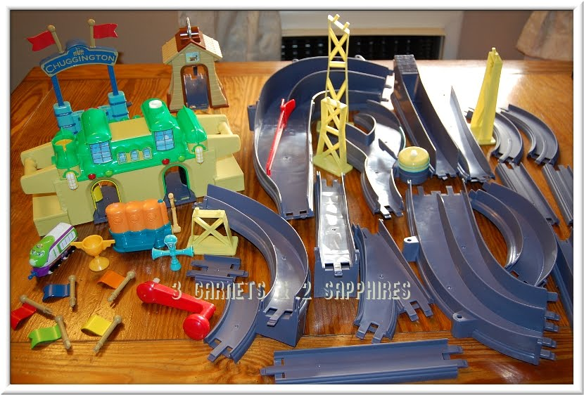 all around chuggington assembly instructions