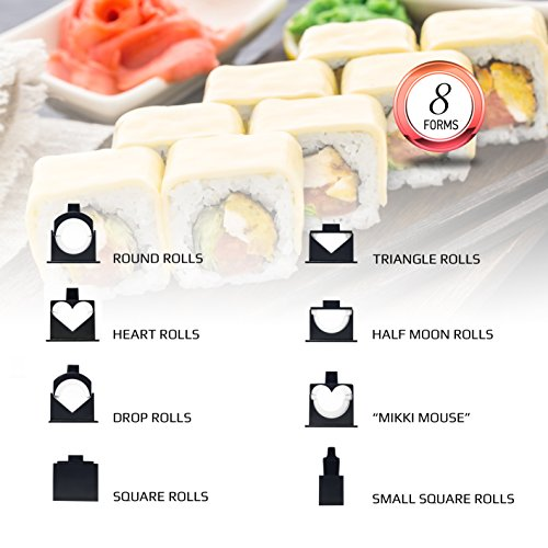 sushi making kit instructions