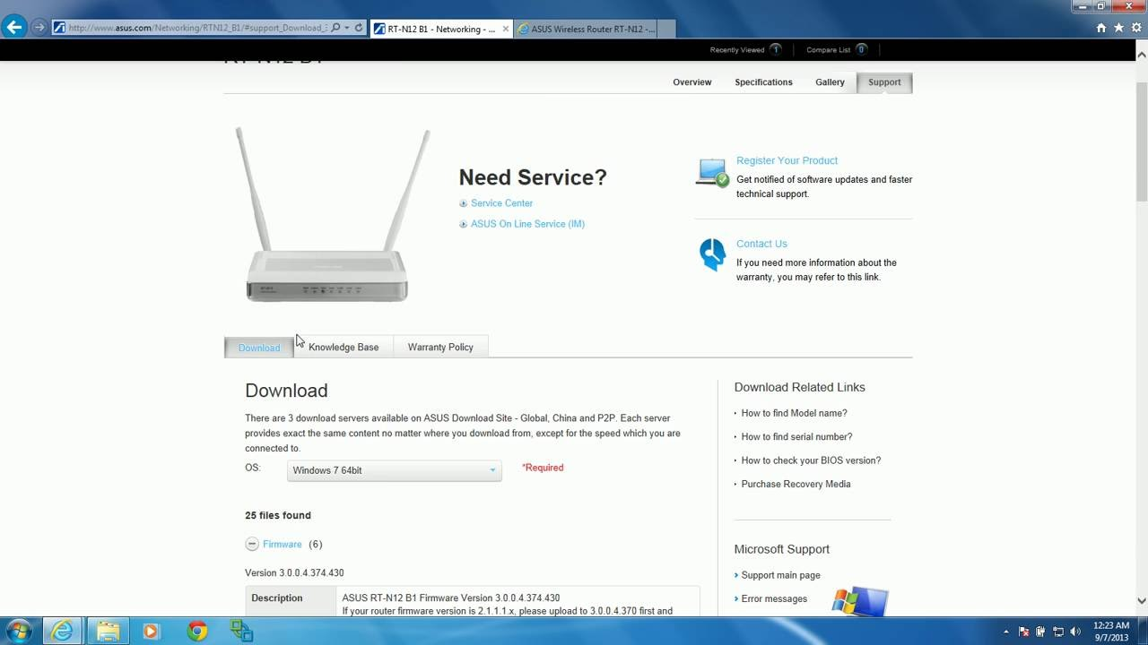 asus router firmware update instructions