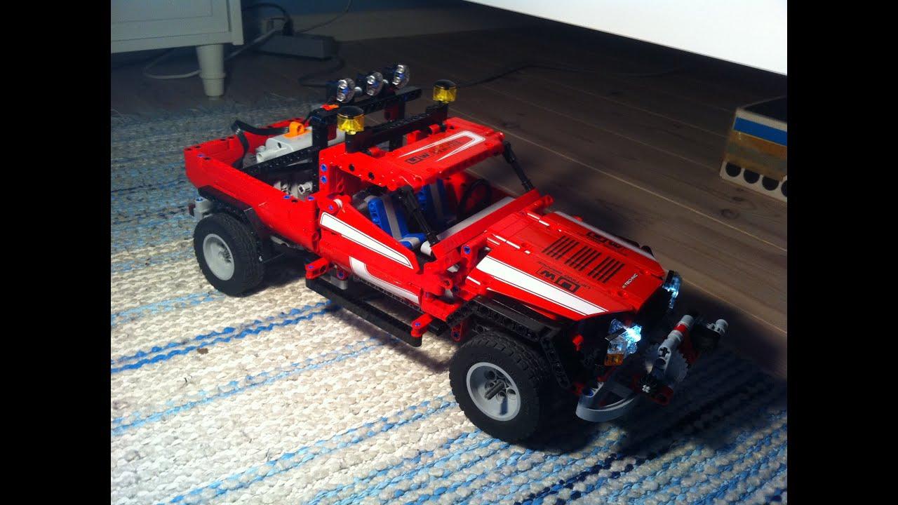 lego technic 8258 trailer instructions