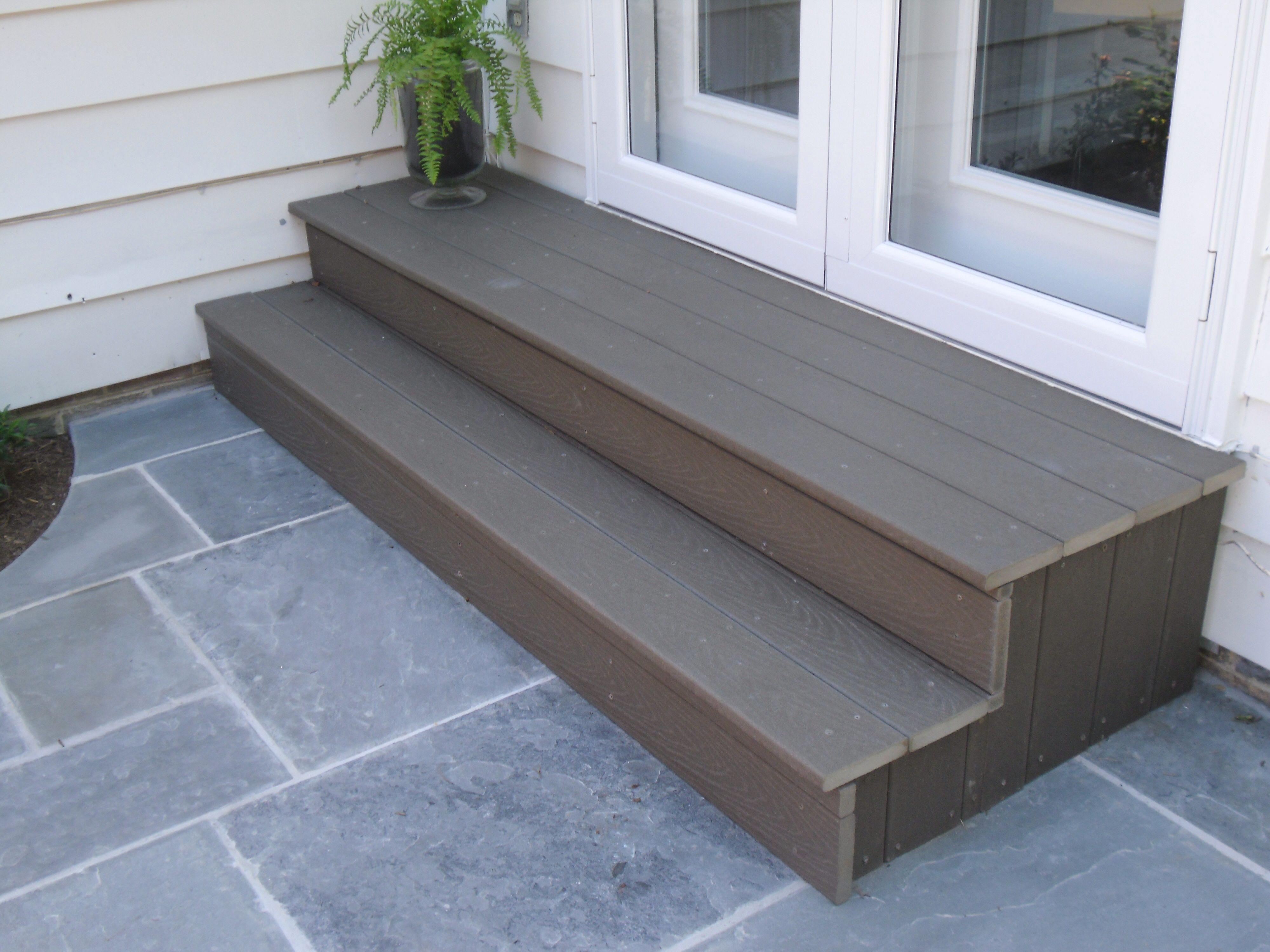 build deck steps instructions