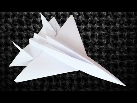 eagle paper plane instructions