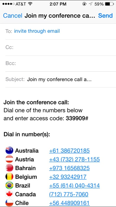 free conference call hd instructions