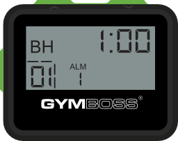 gymboss interval timer instructions