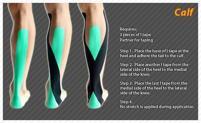 kt tape instructions achilles tendonitis