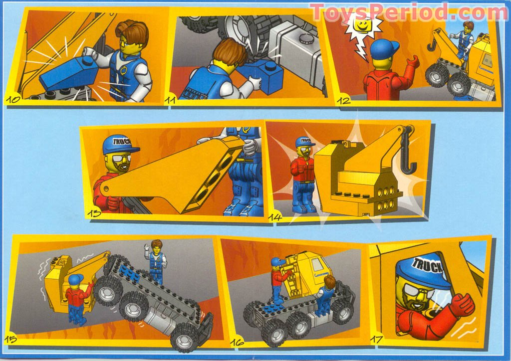lego junior recycling truck instructions