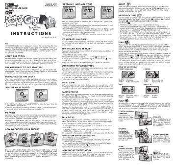 mini simon game instructions