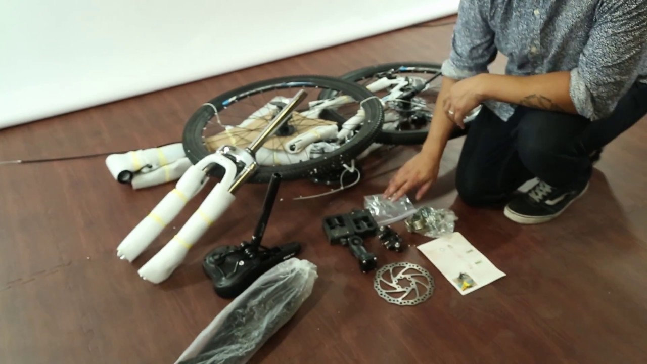 mountain bike assembly instructions