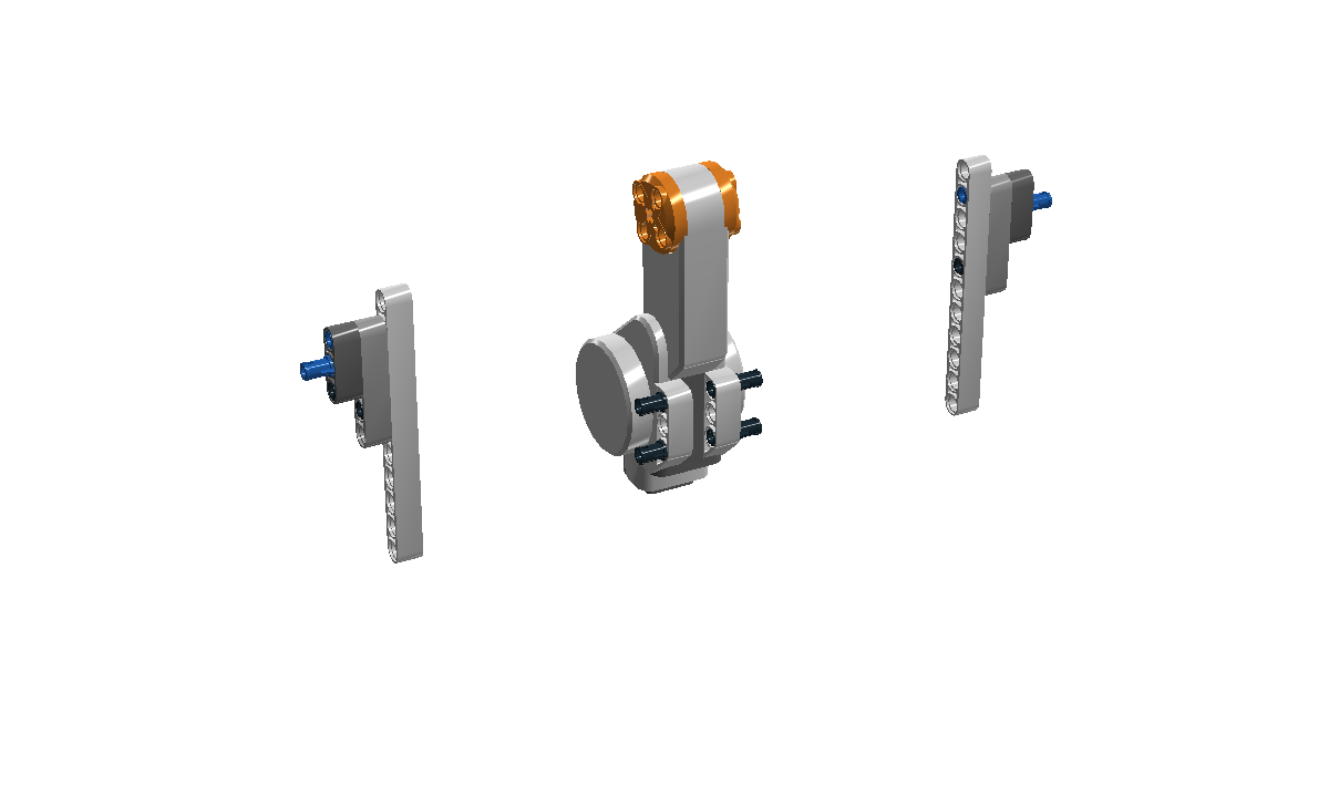 nxt robot claw building instructions