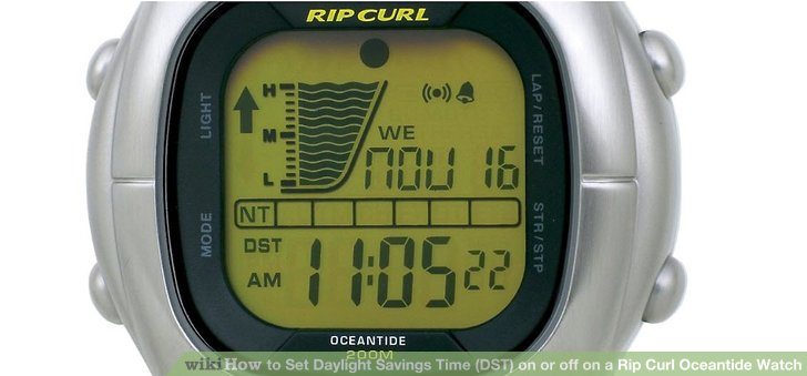 rip curl ats watch instructions
