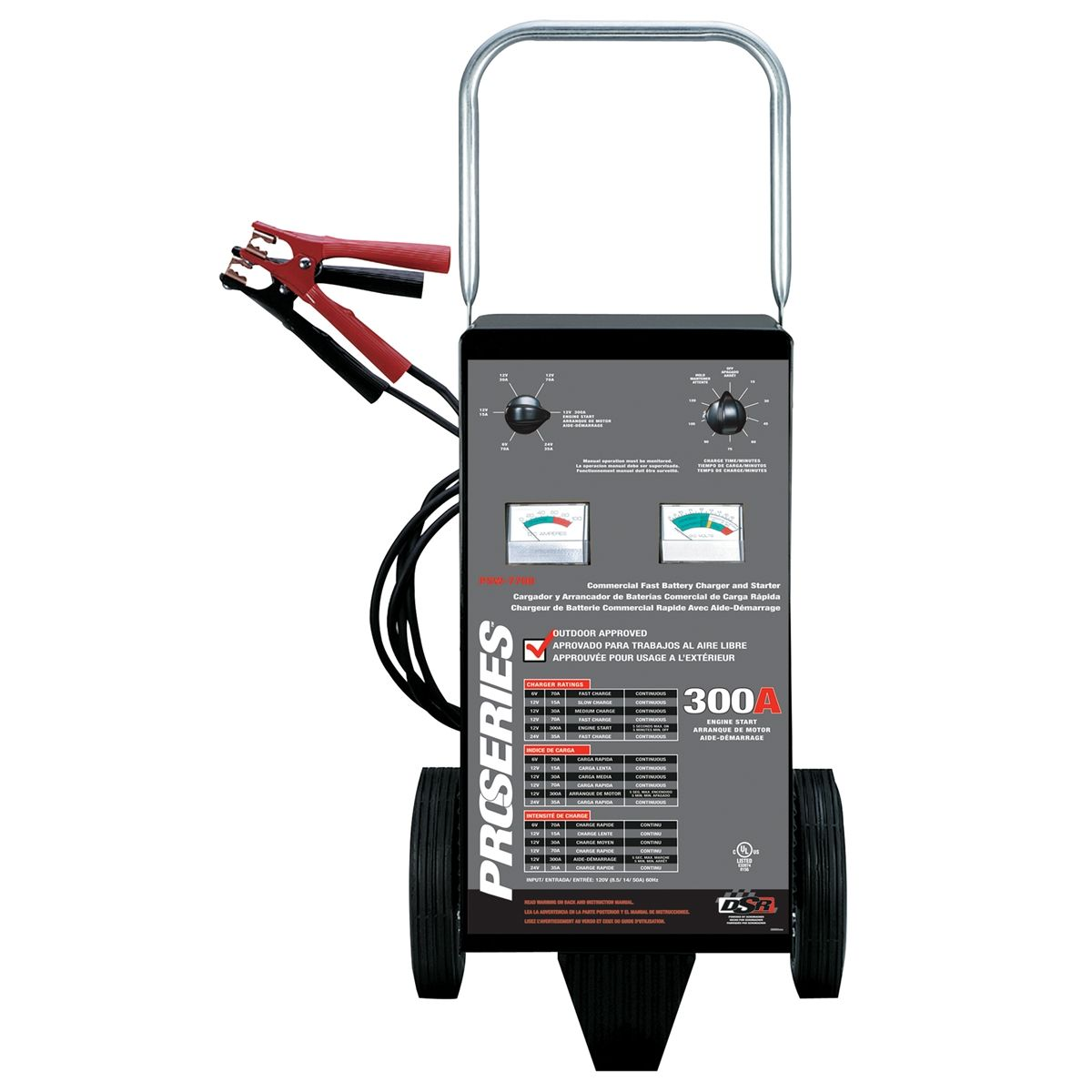 schumacher battery charger instructions