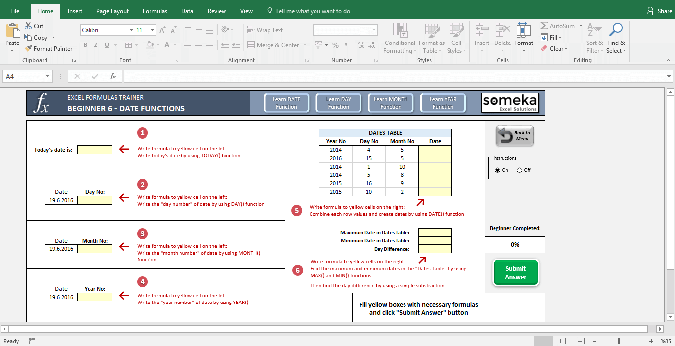 work instruction template with pictures